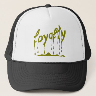 loyalty (loyalty) trucker hat