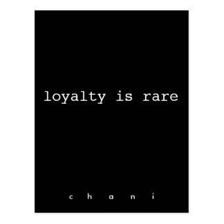 loyalty postcard