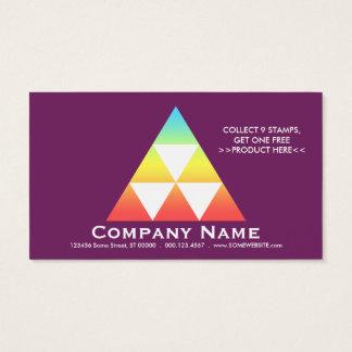 LOYALTY program pyramid card (color customizable)