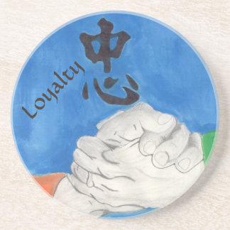 Loyalty Sandstone Coaster