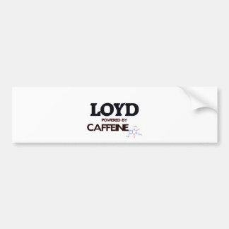 Loyd Powered by Caffeine Bumper Stickers