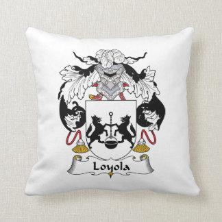 Loyola Family Crest Throw Pillow