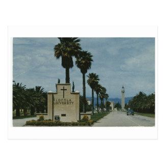 Loyola University Campus Entrance (ca. 1968) Postcard