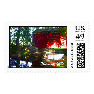 Loy's Station Covered Bridge, Thurmont, MD Stamps