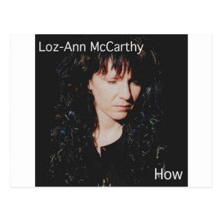 Loz-Ann McCarthy Postcard