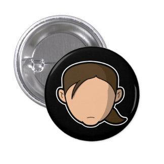 Loz Button Black