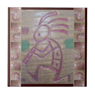 Loza de barro Kokopelli Tejas Ceramicas