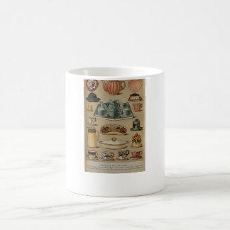 Loza de señora Beeton Breakfast Tea China Taza