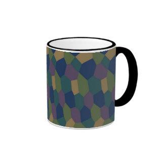 Lozenge Camouflage Mug