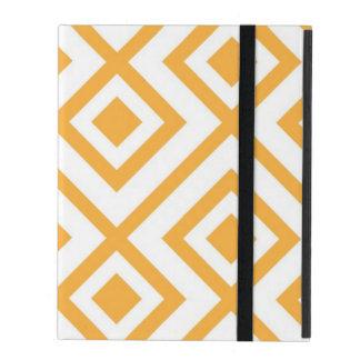 Lozenge shaped geometric pattern iPad cover