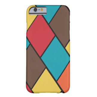 Lozenges and Tiles Pattern Barely There iPhone 6 Case