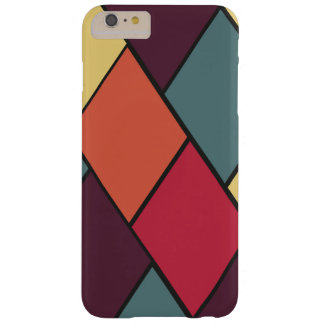 Lozenges and Tiles Pattern Barely There iPhone 6 Plus Case