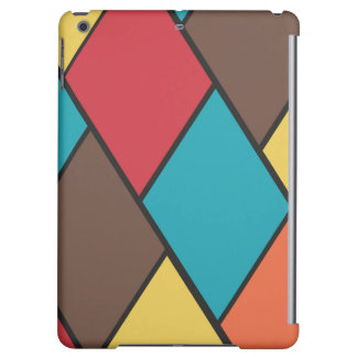 Lozenges and Tiles Pattern - iPad Air Case