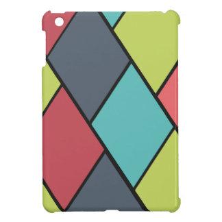 Lozenges and Tiles Pattern - iPad Mini Case
