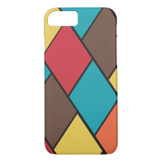 Lozenges and Tiles Pattern iPhone 7 Case
