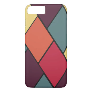 Lozenges and Tiles Pattern iPhone 7 Plus Case