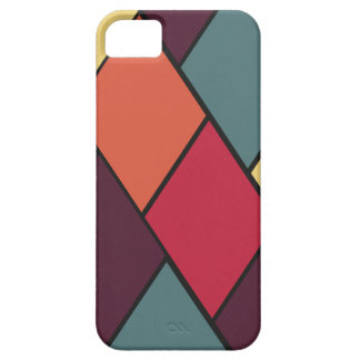 Lozenges and Tiles Pattern iPhone SE/5/5s Case