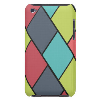 Lozenges and Tiles Pattern - iPod Touch Case
