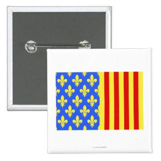 Lozère flag pins