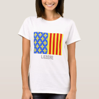Lozère flag with name T-Shirt