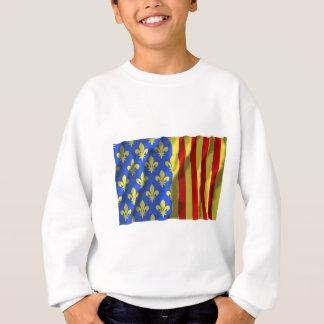 Lozère waving flag sweatshirt