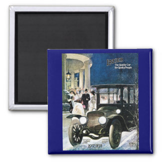 Lozier The Quality Car for Quality People - 1912 2 Inch Square Magnet