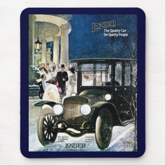 Lozier The Quality Car for Quality People - 1912 Mouse Pad