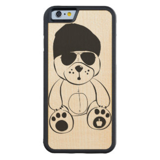 LP-CoolBear-Iphone 6 Carved Maple iPhone 6 Bumper Case