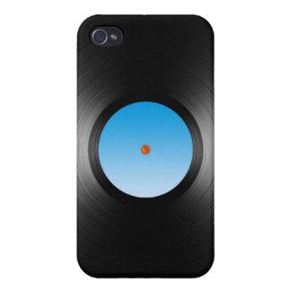 LP DIsk iPhone 4 Cases