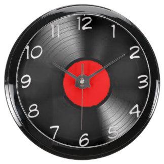 """""""LP Record"""" design wall clocks Aquarium Clocks"""