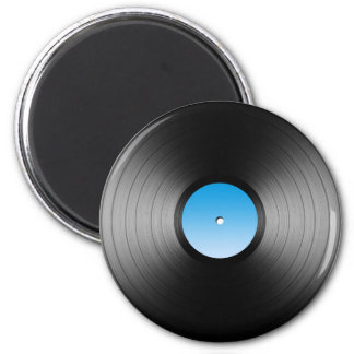 LP Record Refrigerator Magnets