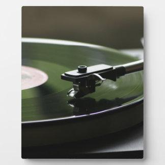 LP Record player... Plaque