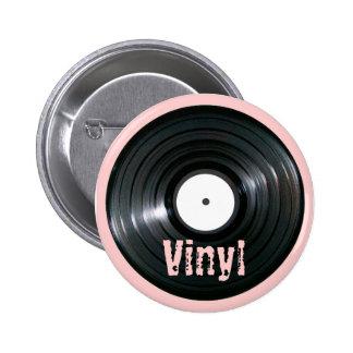 LP Record Series Button