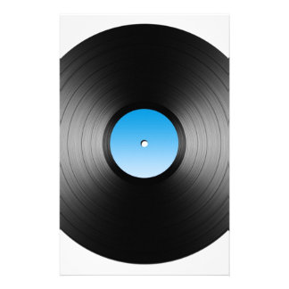 LP Record Stationery