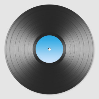 LP Record Stickers