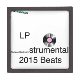 LP Rivilage Riddims Instrumentals 2015 Beats Keepsake Box
