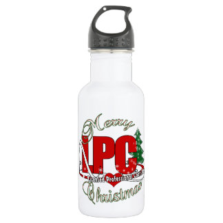 LPC CHRISTMAS  Licensed Professional Counselor Stainless Steel Water Bottle