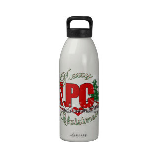 LPC CHRISTMAS Licensed Professional Counselor Drinking Bottles