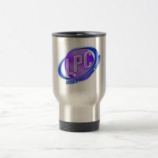 LPC SWOOSH LOGO LICENSED PROFESSIONAL COUNSELOR COFFEE MUG