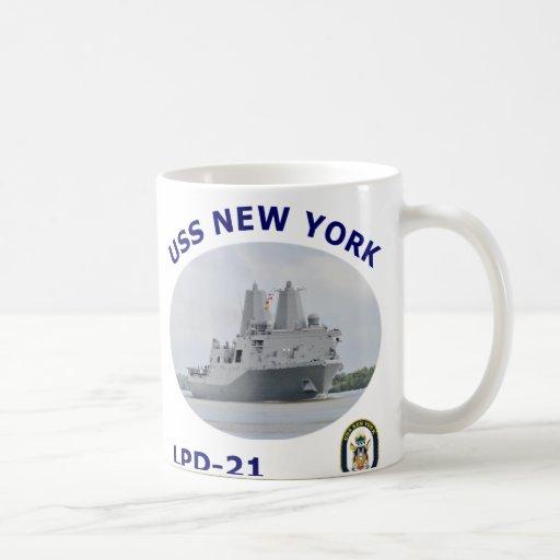 LPD 21 USS New York Coffee Mug