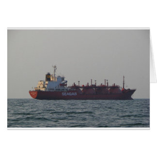LPG Carrier Seagas Governor Card