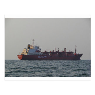 LPG Carrier Seagas Governor Postcard