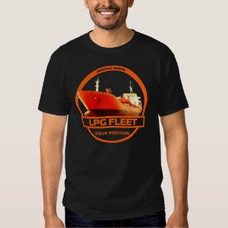 LPG Fleet - Black T Shirt