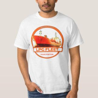 LPG Fleet - White T-shirt