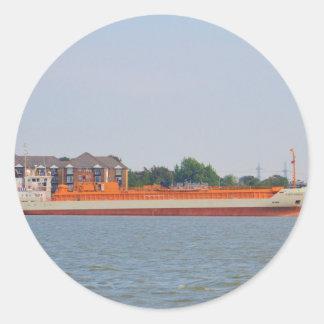 LPG Tanker Yara Embla Classic Round Sticker