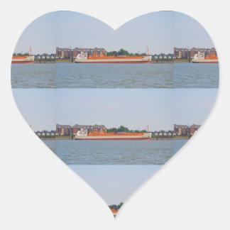 LPG Tanker Yara Embla Heart Sticker