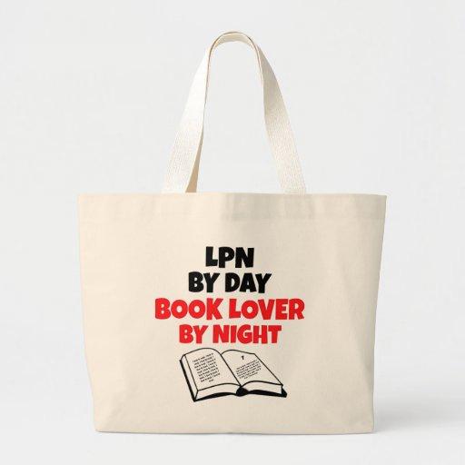 LPN Book Lover Tote Bags