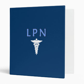 LPN Caduceus Binder