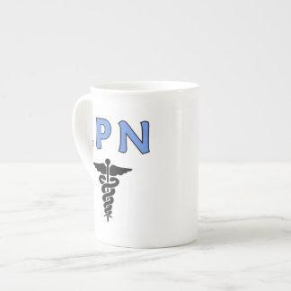LPN Caduceus Tea Cup