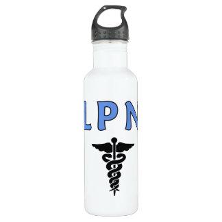 LPN Caduceus Water Bottle